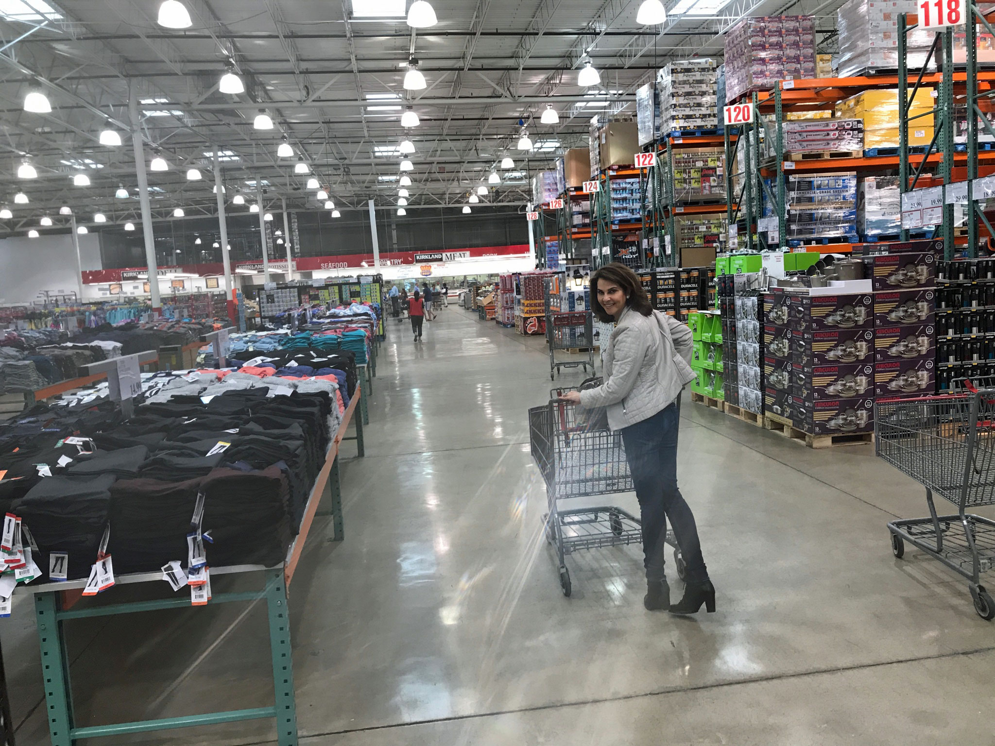 Mimi at Costco